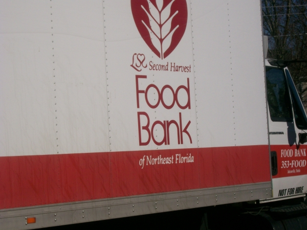 We filled this large truck - Off to help others