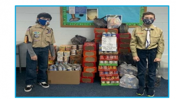 Rock Hill Baptist Church & Cub Scout Pack 845 Soup Collection