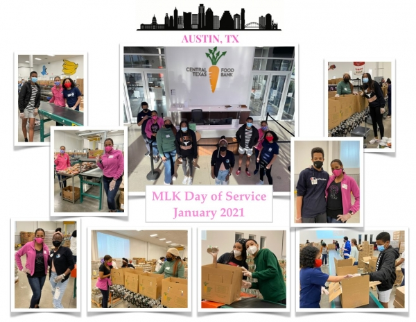 MLK Day of Service & Souper Bowl of Caring Collage