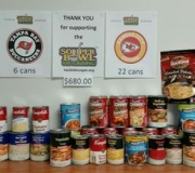 CUPC Souper Bowl of Caring Results