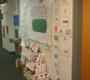 Week after week the Hallway filled with excitement as standings of teams were determined.