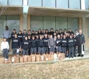 Cisterican Class of 2012 and Fr. Bernard