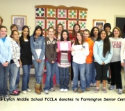 Randall Lynch Middle School FCCLA Chapter, Farmington, Arkansas