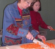 Preparing soup for luncheon - 2