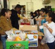 Trinity Faith Trek Blitz at Arlington Food Assistance Center