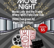 Movie Night at the Field Zone