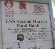 Food Was Donated to the Second Harvest Food Bank