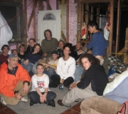 At the end of a hard week with our new friends from HOPE