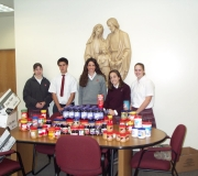Campus Ministry Food Drive