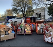 South Charlotte Chapter of Jack and Jill Junior Teens work together to fight hunger!