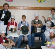 Fellowship Church Youth Group Collects Cash for Souper Bowl Sunday!