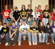 United Church Westside Youth Group from Westside, Iowa after collecting for the Souper Bowl of Caring