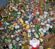 Wow What a lot of Cans 7,000 Food Items