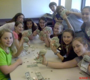 Counting the cash!!!