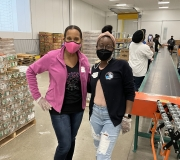 Jack and Jill Austin at the Central Texas Food Bank