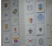 Each Class Had a Team Name & Logo where Coins were Tallied